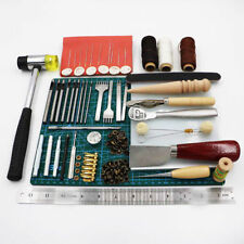 Unbranded leathercraft stamps for sale ebay 44pcs craft tools hand sewing stitching leather stamping working kit set diy us solutioingenieria Choice Image