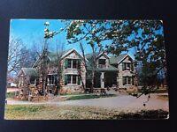 Hugo Oklahoma OK Hospital at GOODLAND INDIAN Orphanage Vintage Postcard Unposted