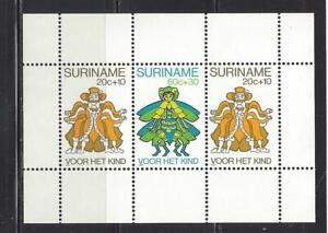 SURINAM - B275a S/S - MNH - 1980 - CHARACTERS FROM ANANSI & HIS CREDITORS