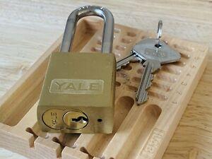 Yale LFIC Padlock w Yale Lock Core Install Control And Operating Locksport  Rare
