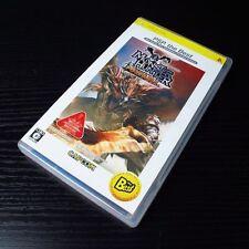 PSP Monster Hunter Portable Playstation Portable JAPAN Import UMD #0101