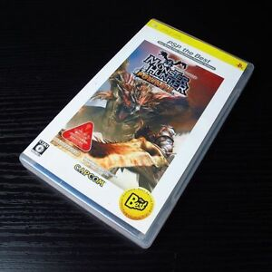 PSP Monster Hunter Portable Playstation Portable JAPAN Import UMD #0101