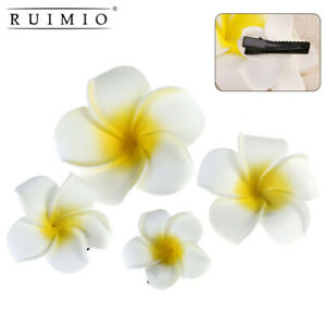 4pcs Hawaii Flowers Hair Clips Bridal Accessories Hairpin Hairclip Party Women