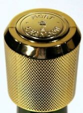 More details for moet chandon champagne bottle stopper bouchon gold tone new in polybag