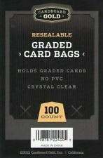 500 (5 Packs) Ultra CBG RESEALABLE GRADED CARD BAGS GB