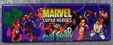 Marvel Super Heroes Vs Street Fighter Arcade Game Marquee Fridge Magnet