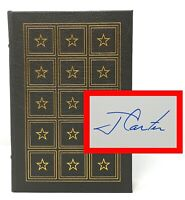 Jimmy Carter - Keeping Faith - SIGNED 1st Easton Press - Full Leather -President
