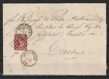 Niederlande alter Brief von Amsterdam nach Dresden, 1872