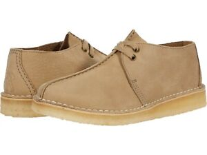 Men's Shoes Clarks Originals DESERT TREK Casual Boots 60224 LIGHT TAUPE NUBUCK