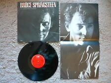 "Bruce Springsteen Brilliant Disguise 12"" Vinyl & Poster 1987 UK CBS 1st Press EX"