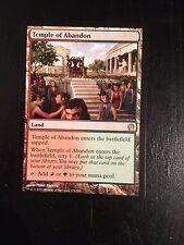 MTG MAGIC THEROS TEMPLE OF ABANDON (NM)