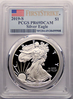 2019 S American Silver Eagle PCGS PF69DCAM First Strike