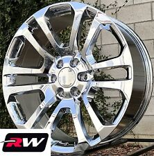 "20"" inch 20 x9"" Wheels for Chevy Avalanche Chrome Rims CK158"
