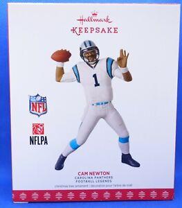 2017 Hallmark Keepsake NFL Carolina Panthers Cam Newton Ornament ~ NIB (2020)