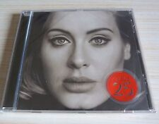 CD ALBUM 25 - ADELE VERSION 11 TITRES 2015 NEUF EMBALLE