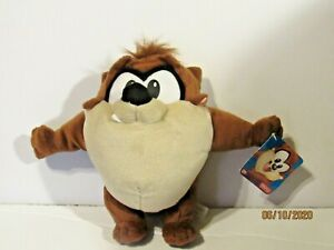 """2002 Fisher Price Looney Tunes Baby Taz Tazmanian Devil Plush With Tag 9"""" tall"""