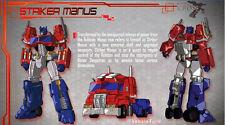 New Transformers Maketoys MT MTCD-01 Striker Manus Optimus Prime in Stock