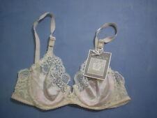 Vintage Oscar de la Renta 01020 Underwire Bra Size 32B in Floral Print