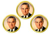 President Lyndon Johnson Marqueurs de Balles de Golf