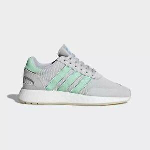 Adidas Originals Women's I-5923 Shoes NEW AUTHENTIC Grey/Mint/White D97349