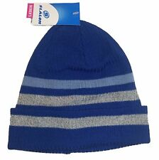 Slalom Women's Winter Beanies Blue Stripes