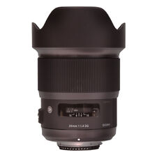 Sigma 20mm f/1.4 Dg Hsm Art Lente Para Canon Ef