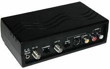 Dynex WS-007 - RF Modulator RCA/S-Video to Coax Video Converter by Dynex