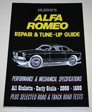 Reparaturanleitung + Tuninganleitung Alfa Romeo Giulia, Giulietta, Spider, 2600