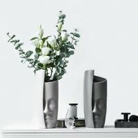 Ceramic Decorative Centerpiece Pottery Vase for Home Office Party Gift Wedding