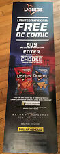 Batman v Superman Doritos Exclusive Store Display DC Comics Dollar General Rare