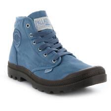 Palladium Pampa Hi BOOTS Men's Shoes High Top Men Sneaker Blue 02352-405 UK 8