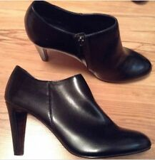 New🌹NEXT🌹Size 6.5 Black Ankle Boots FOREVER COMFORT High Heel Smart Shoes 40EU