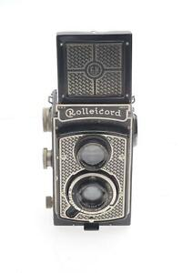 "Rolleiflex TLR Rolleicord I Model 1, K3, 510 Vintage ""Art Deco"" Camera #457"
