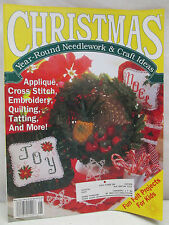 Christmas Year Round Needlework & Craft Ideas Magazine May June 1992 Felt