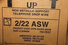 General Cable 2090008 22/2P NM Support Telephone Service Drop Wire -SOLD BY YARD