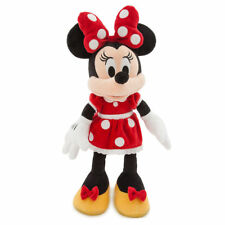 Minnie Mouse Plush Doll - Red Dress - Medium 18'' inches - Brand New -Free Ship!