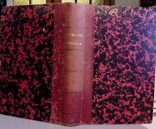 HURRELL MALLOCK. L'égalité sociale, étude sur une science qui nous manque. 1883.