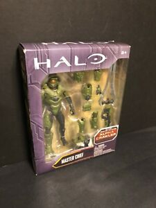VINTAGE MATTEL HALO MASTER CHIEF ALPHA CRAWLER ACTION FIGURE - SEALED IN BOX!