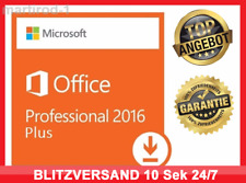 Microsoft Office 2016 Professional Plus,PRO VOLLVERSION✔ ORIGINAL & OFFIZIELL ✔