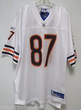 NEW NFL CHICAGO BEARS MUHAMMAD #87 AWAY COLORS REEBOK JERSEY ADULT XL