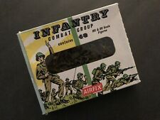 Vintage AIRFIX WWII Infantry Combat Group: 48 HO & OO scale (92) figures. EX!