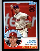 Scott Kingery 2018 Topps Update 1983 TOPPS Black /299 Phillies RC #83-3