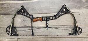 Mathews DXT completely custom, dark bronze riser, treebark limbs, string stop