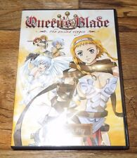 QUEEN'S BLADE THE EXILED VIRGIN - 1: A SINGLE STEP (DVD, 2009) *****LN*****