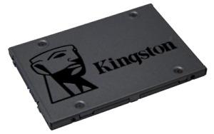 Kingston 120GB, 240GB or 480GB SSD A400 Laptop Hard Drive SATA3 500/320 MB/s