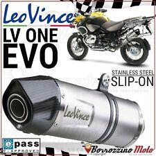 POT D'ECHAPPEMENT LEOVINCE LV ONE EVO ACIER INOX BMW R 1200 GS ADVENTURE 2010