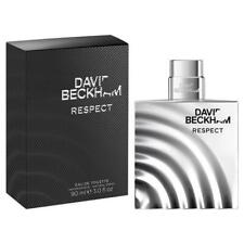 Respect 90ml EDT By David Beckham Mens Eau de Toilette Perfume Spray Scent