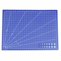 A4 Grid Lines Cutting mat Craft Card Fabric Leather Paper Board 30*22cm Blue 7W4