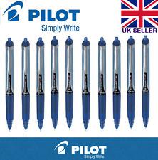 10 X Pilot Hi-Tecpoint V5 RT Tinta Líquida Retráctil Rollerball Bue