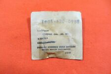 M1 Carbine Trigger, made by Saginaw Gear - Marked SG -  NOS new (2797)